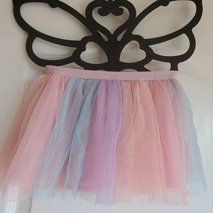 3 🐷  pigs for $25  rainbow tulle tutu skirt